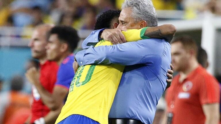 مدرب البرازيل :نيمار افضل من هزارد