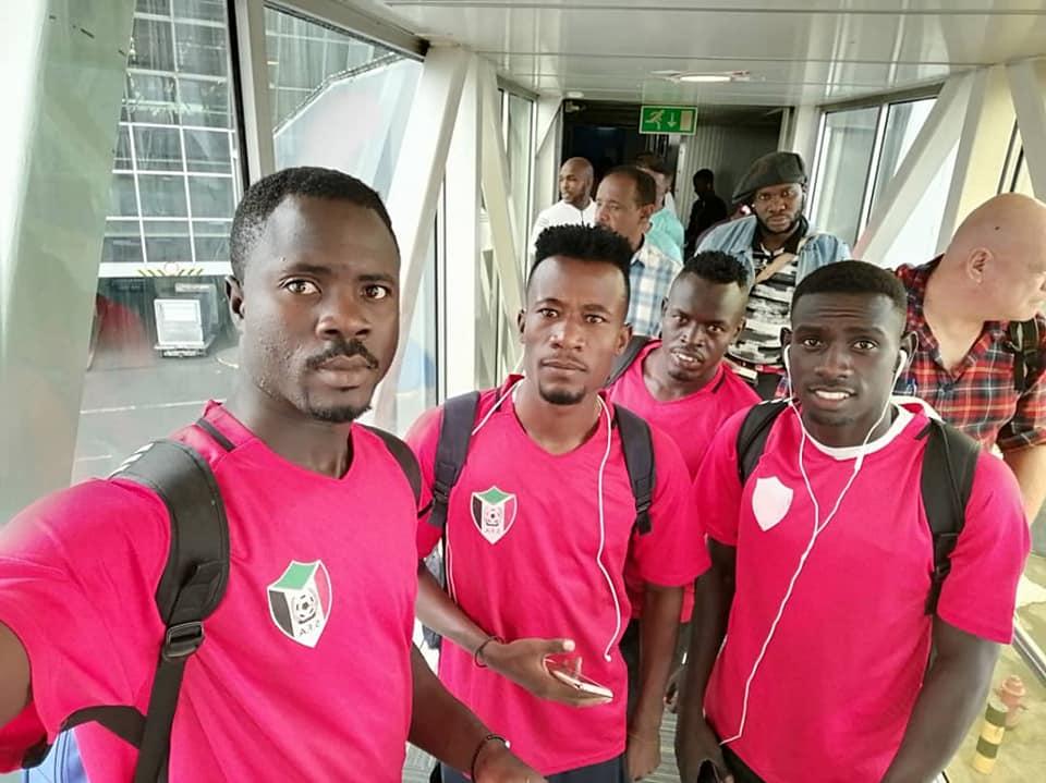 المنتخب الاولمبي يصل نيجيريا