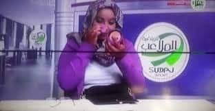 مذيعة قناة الملاعب : من الصدمة لحدي الساعة 3 صباحاً ببكي