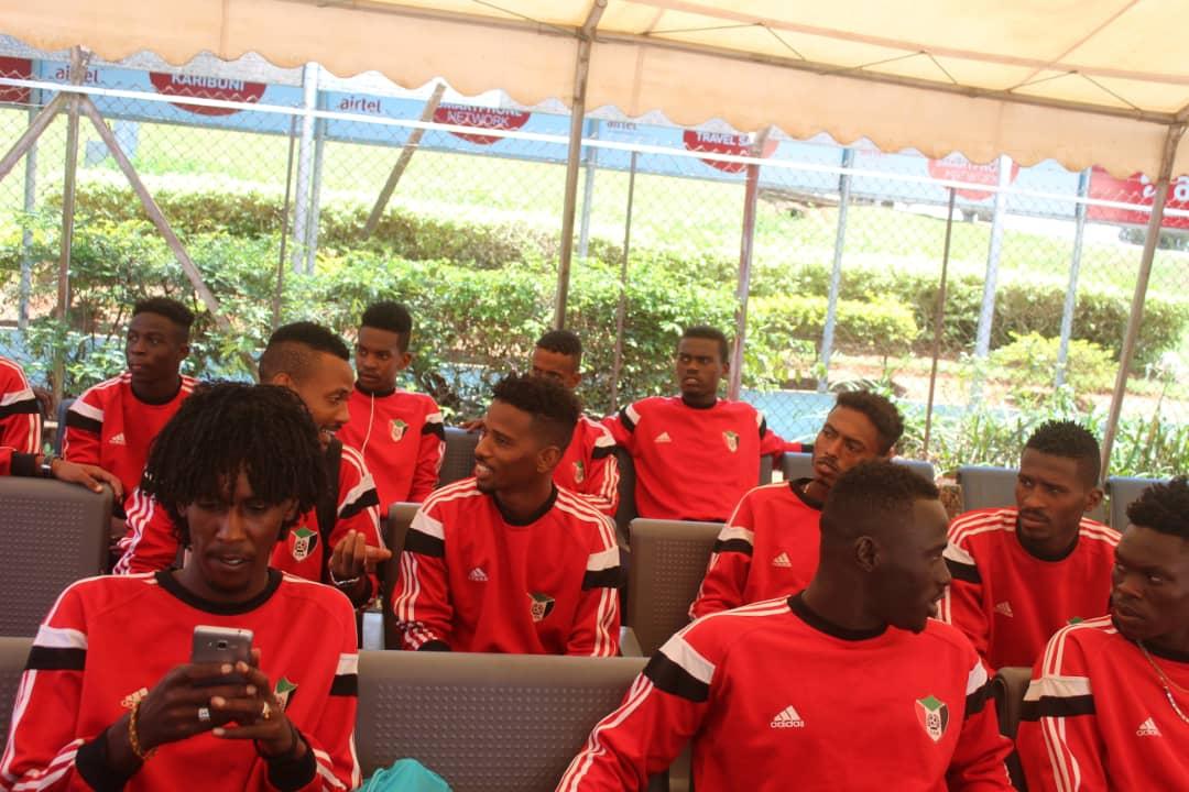 بعثة السودان تصل الى يوغندا لخوض بطولة سيكافا للشباب