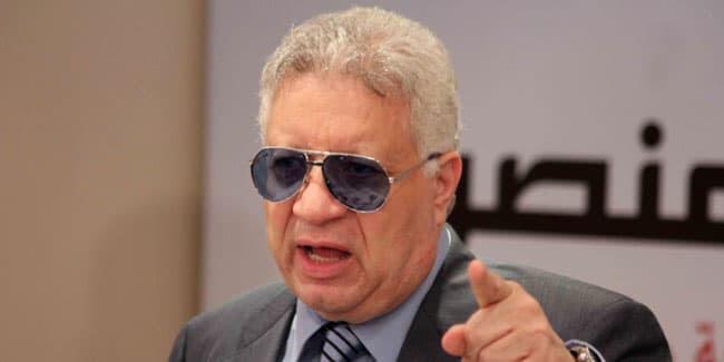 مرتضي منصور: الاهلي يستفز الزمالك