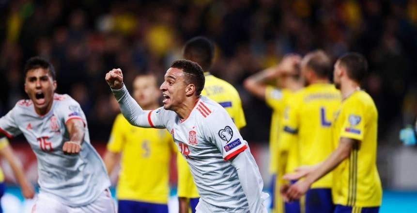 إسبانيا تحسم تأهلها لليورو بتعادل قاتل أمام السويد