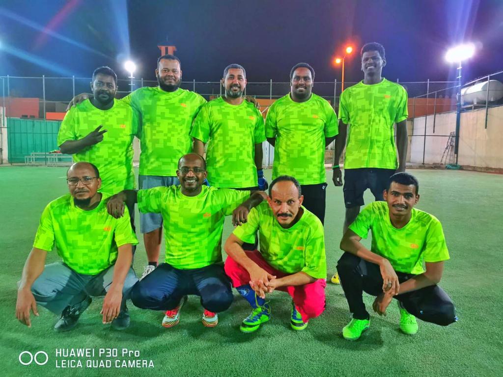 """ختام رائع لبطولة""""كلنا نلعب"""" بالرياض السلام يتوج بالكأس ومحمد الزنجي يتوج بجائزة أفضل لاعب"""