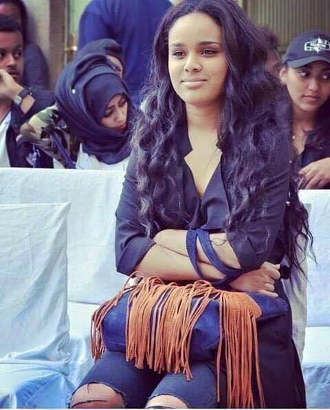 بطلة اول فيلم اثيوبي سوداني تثير إعجاب رواد مواقع التواصل