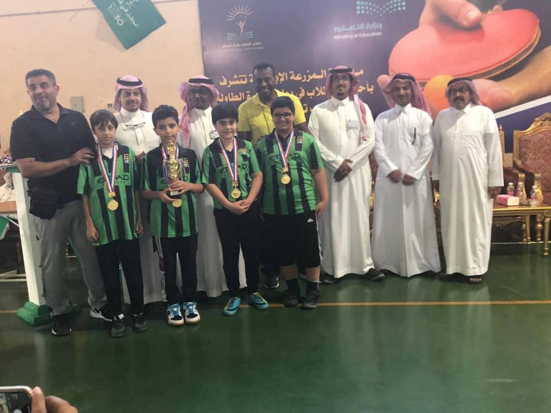 مشاركة 70 مدرسة في بطولة كرة الطاولة بتعليم شرق الدمام