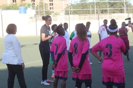 افتتاح ورشة الهولندية روكي لكرة القدم للسيدات
