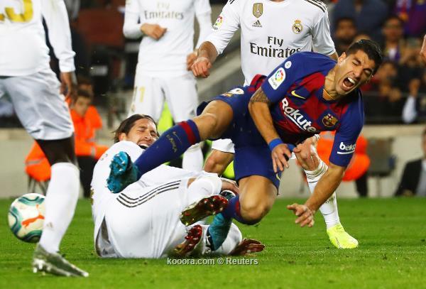 التعادل السلبي يسيطر علي مباراة الكلاسيكو بين برشلونة والريال
