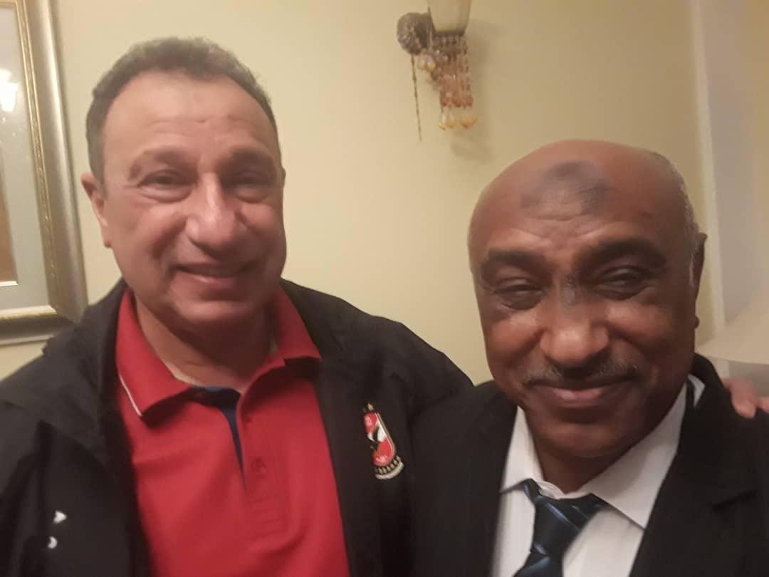 نجم المنتخب محمود صالح يستقبل الخطيب