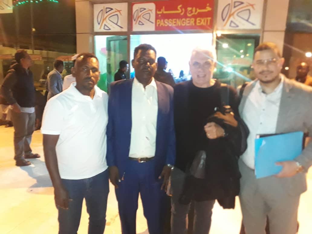 الفرنسي فيلود يصل السودان  لقيادة تدريب كبار صقور الجديان