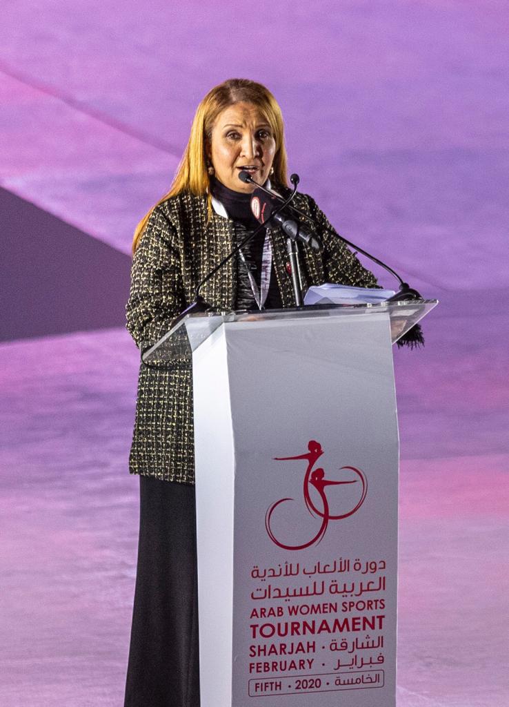 """جواهر القاسمي تشهد افتتاح النسخة الخامسة لـ """"عربية السيدات 2020"""""""