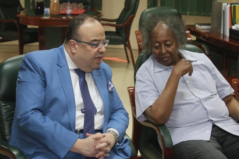زيارة السفير المصري لشداد تزيل سوء الفهم