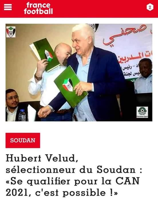 فيلود: اسعي للوصول للكاميرون مع المنتخب السوداني