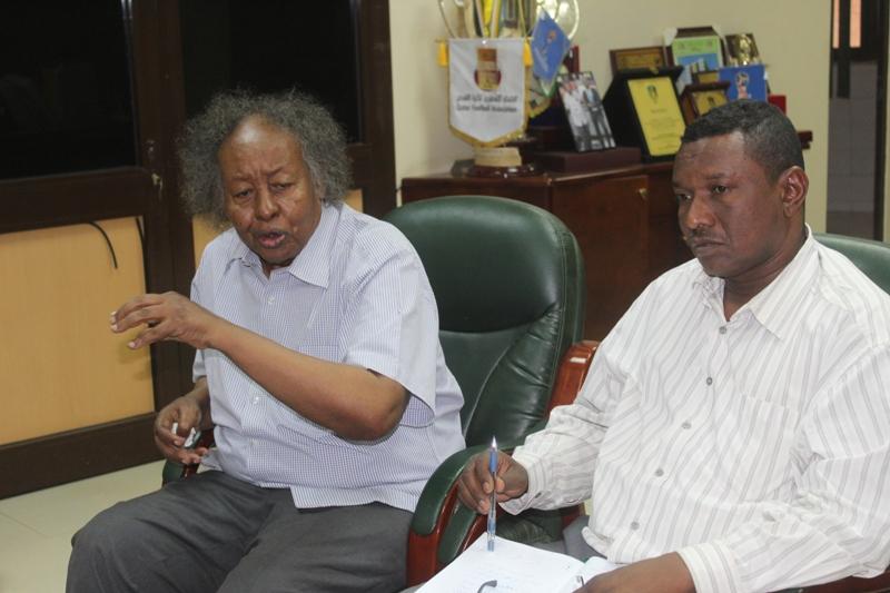 شداد يلتقي لجنة المدربين ويناقش برنامج آيت عبدالملك