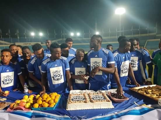 نجوم الهلال يحتفلون بمرور 90 عام على تأسيس النادي