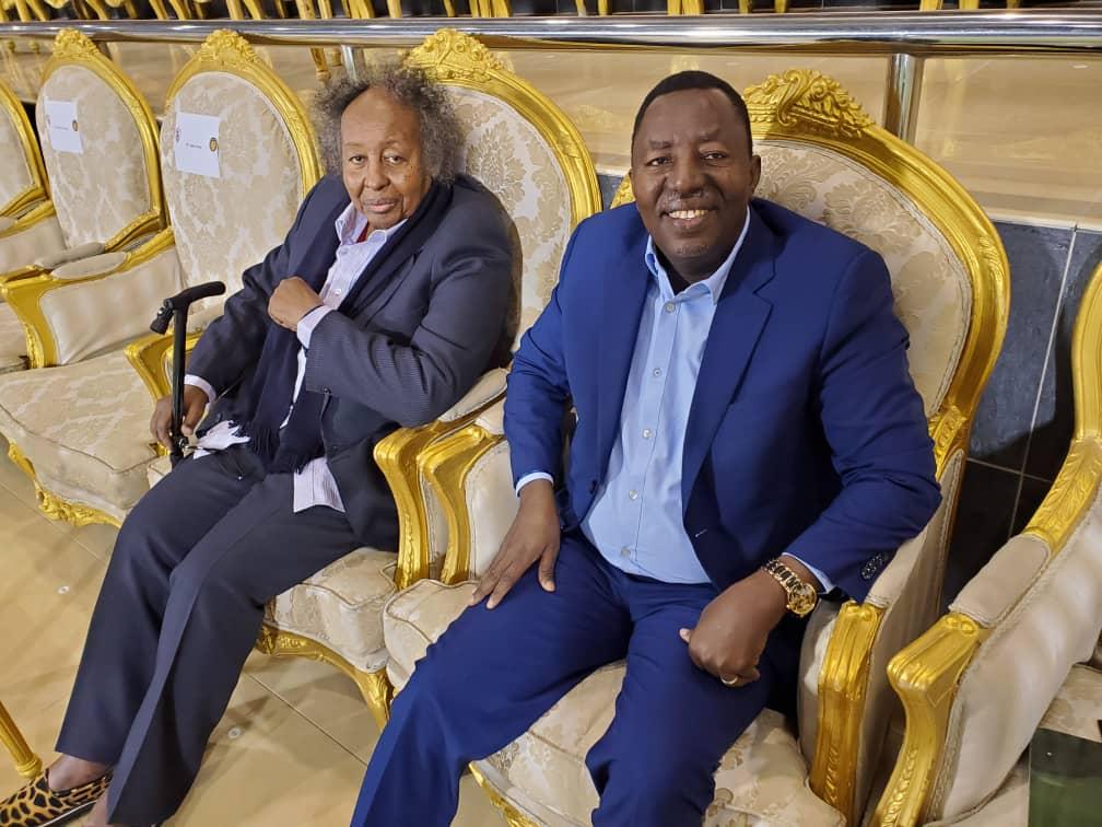 لقاءات إيجابية للبروف شداد وبرقو على هامش السوبر الافريقي