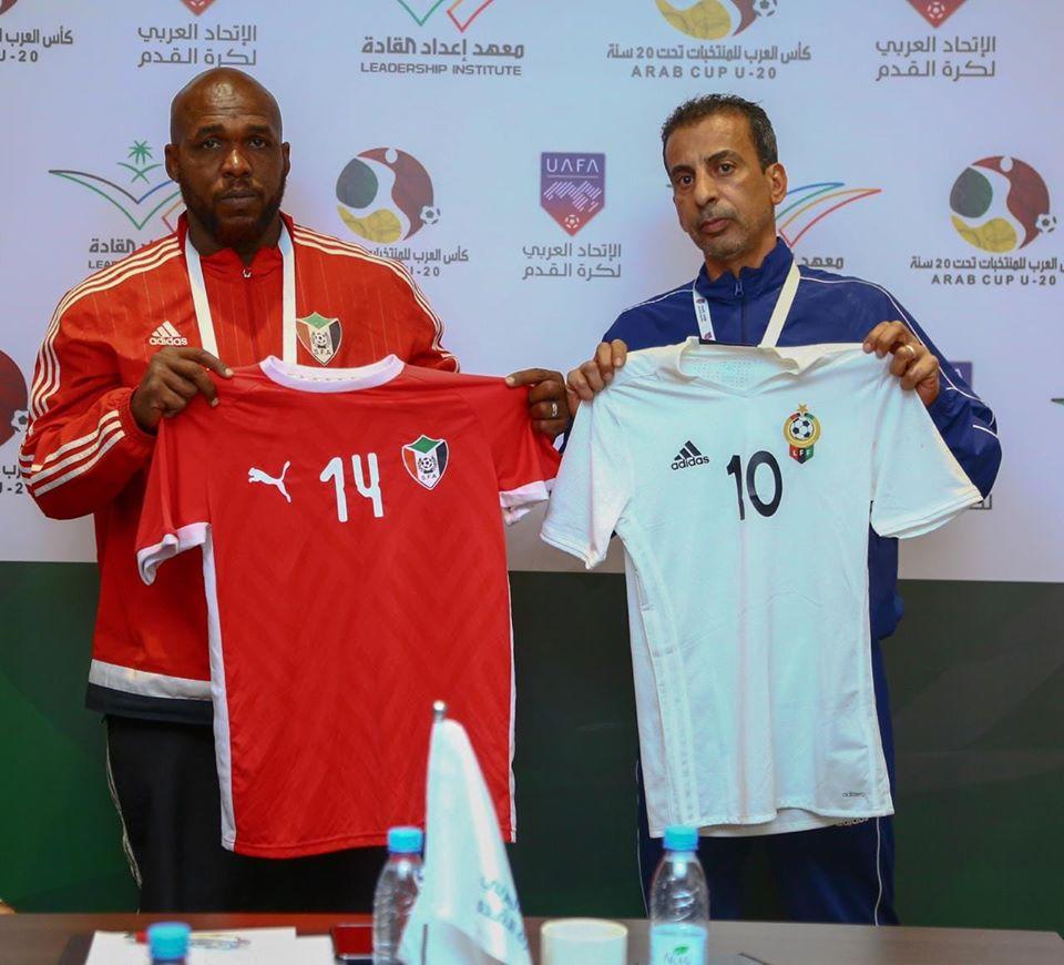 السودان يظهر بالاحمر في مباراة ليبيا