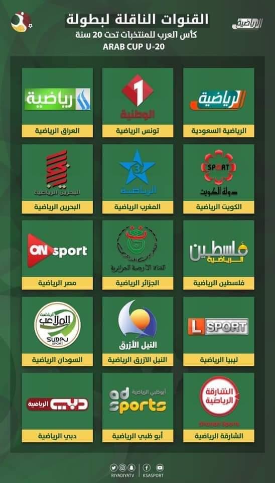 بطولة كأس العرب تحت 20 سنة تنطلق اليوم بالسعودية