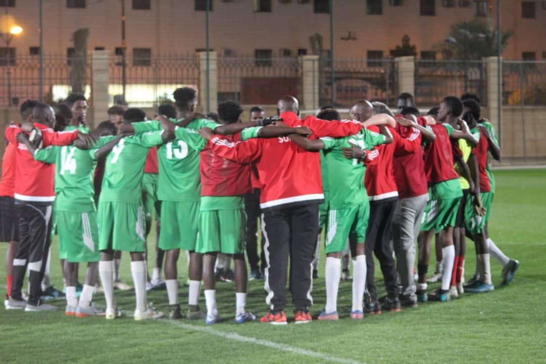 منتخب السودان يستهل نشاطه بثلاثة وعشرين لاعبا