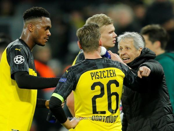 فافر يمتدح اداء لاعبيه امام باريس
