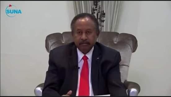 نص خطاب حمدوك لجماهير الشعب السوداني