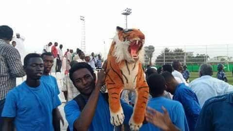 الاهلي شندي يواصل استعداداته بمدينة شندي لمواجهة الخرطوم الوطني.