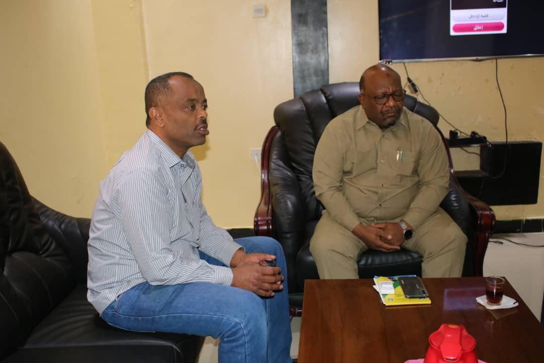 الكيماوي يزور المجلس الاعلي للشباب والرياضة بولاية الخرطوم