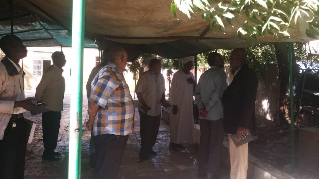شداد يستقبل لجنة تعديل القانون ولجنة المدربين وسبع بمكتبه