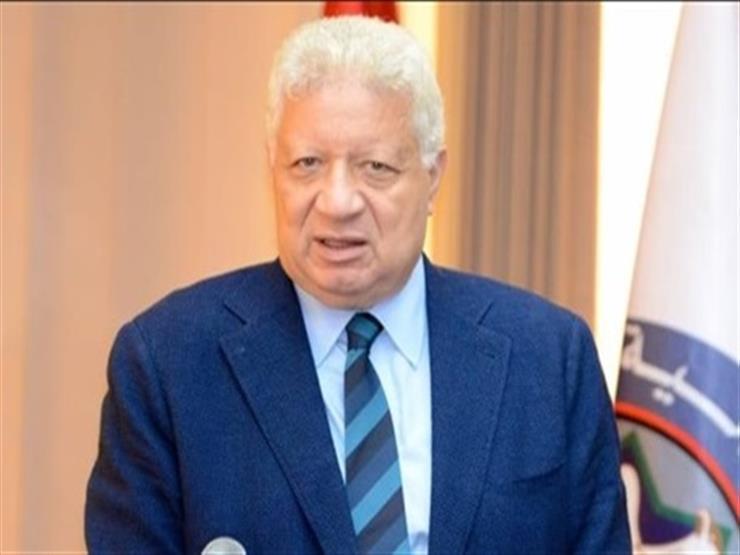 رئيس الزمالك  . . صحة المصريين أهم من بطولة الدوري