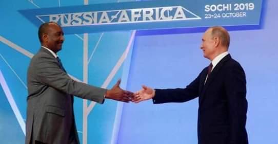 السودان يؤكد تمسكه بالاتفاقيات العسكرية الموقعة مع روسيا خلال نظام الانقاذ المعزول
