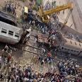 15 قتيلا و24 مصابا فى تصادم قطارين في مصر