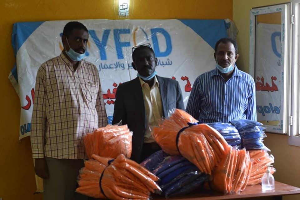 منظمة شباب التغيير تؤكد دعم الاندية