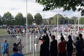 تحطم قيود كورونا بمباراة كرة قدم في فرنسا
