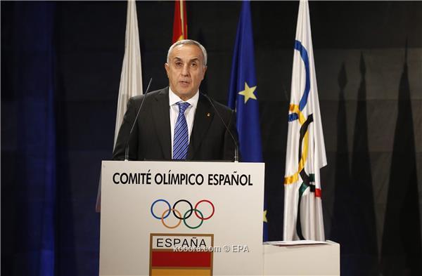اولمبياد .. رئيس اللجنة الإسبانية لا يمانع تأجيل الأولمبياد إلى 2022
