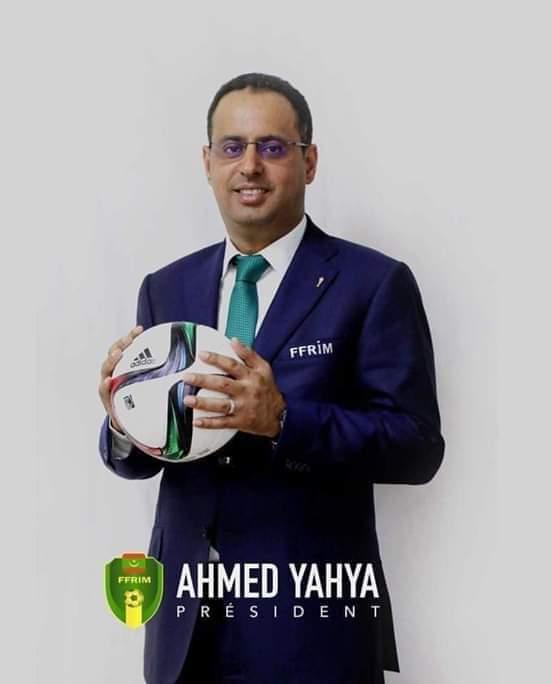 رئيس الاتحاد الموريتاني يترشح لرئاسة الكاف