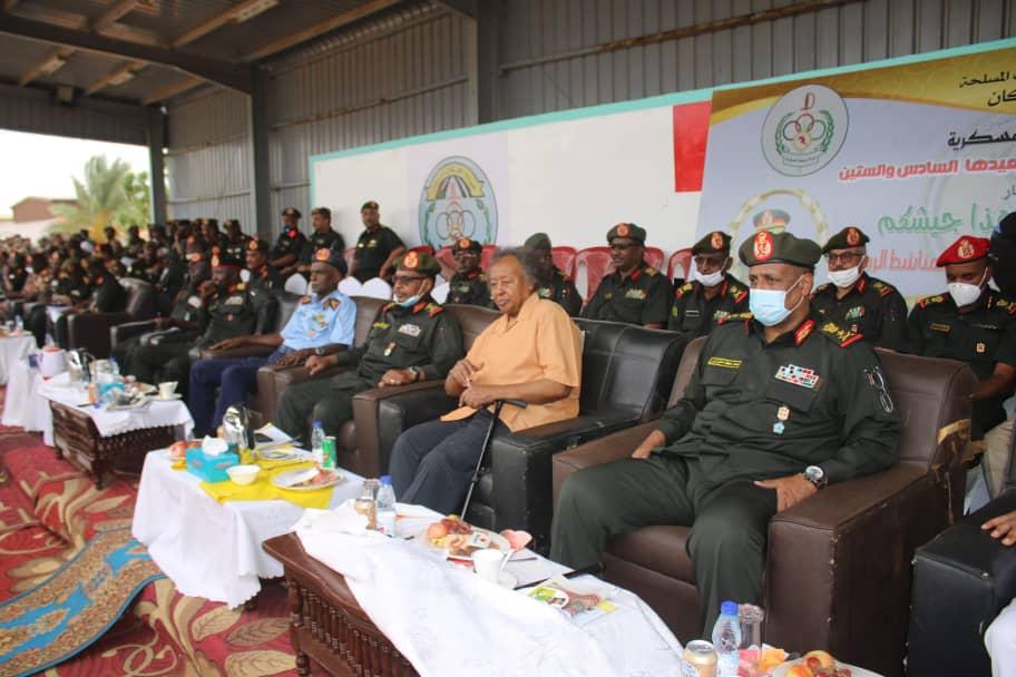 الجيش يكرم شداد بختام احتفالاته بالعيد 66