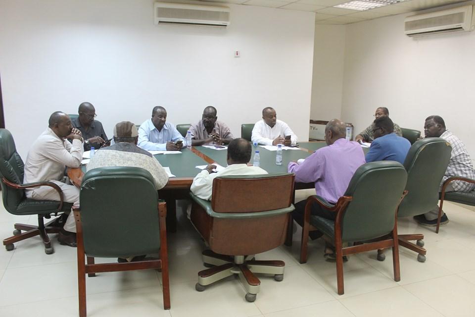 لجنة مراجعة وصيانة الاستادات تعقد الاجتماع الأخير