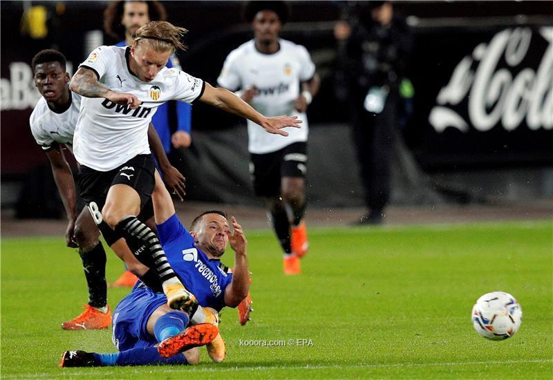 مباراة مجنونة بين فالنسيا وخيتافي