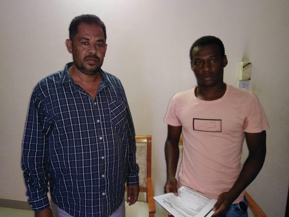 هلال الابيض يتعاقد مع الكاميروني امادو