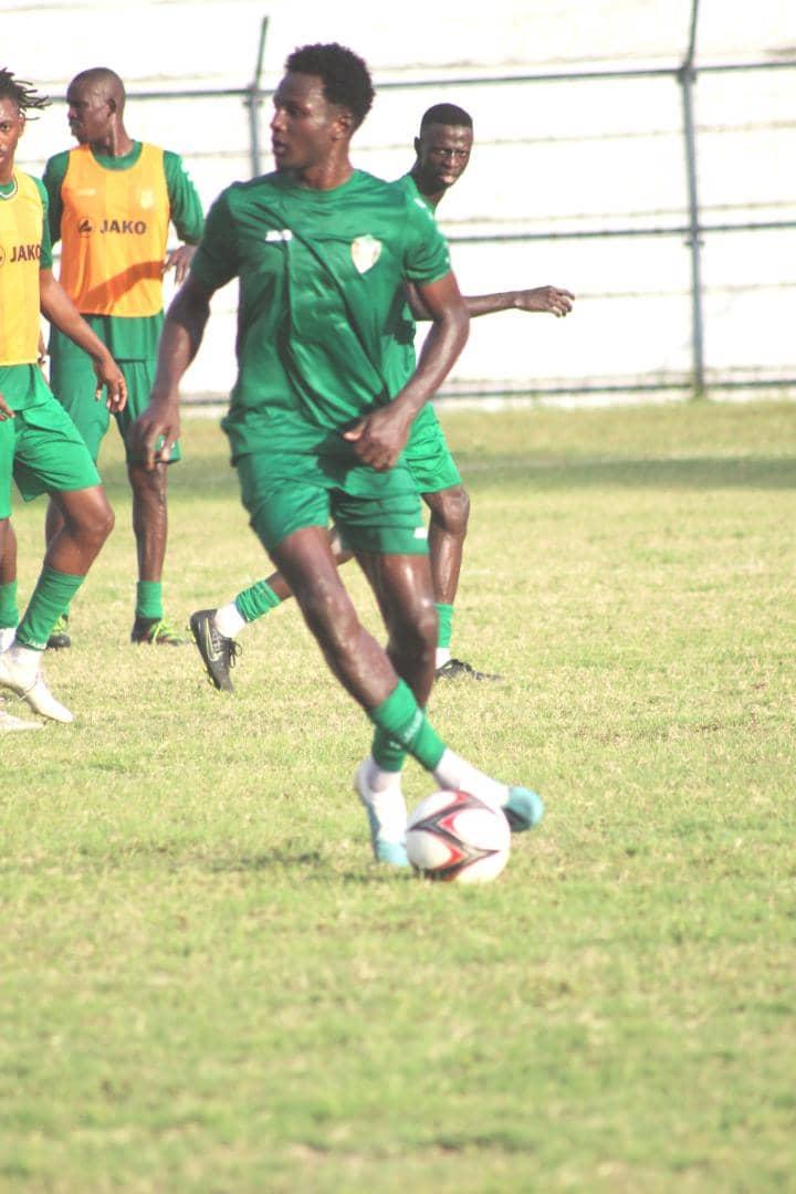 محمد الرشيد يتألق في تدريبات المنتخب السوداني