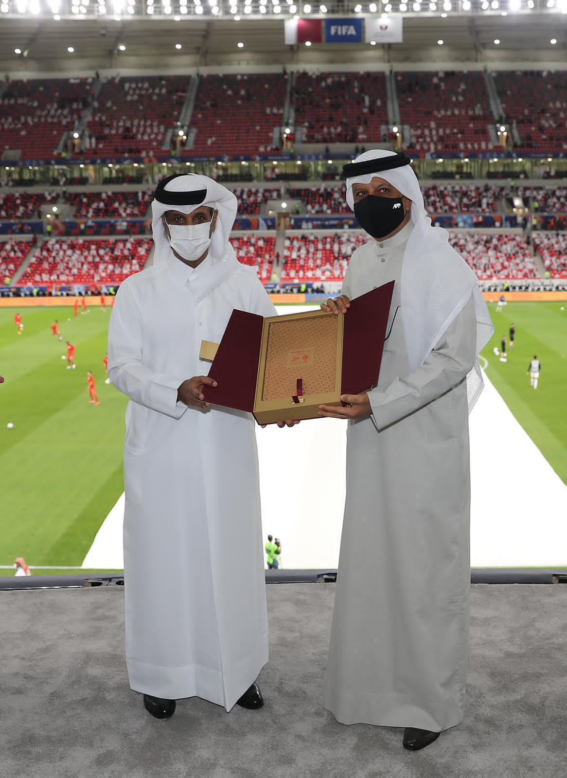 سلمان بن ابراهيم: تدشين استاد احمد بن علي مؤشر حقيقي حول جهوزية قطر  لاحتضان كأس العالم ٢٠٢٢.
