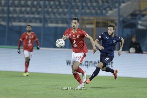 التعادل يسيطر على مواجهة الاهلي وبيراميجز في الدوري المصري
