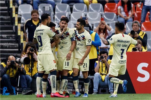 كلوب أمريكا يهزم خواريز في الدوري المكسيكي