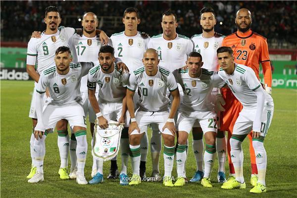 الكشف عن موعد مواجهات منتخب الجزائر