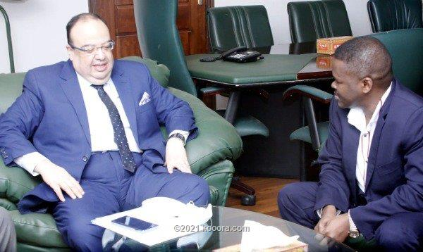 سوداكال يلتقي السفير المصري
