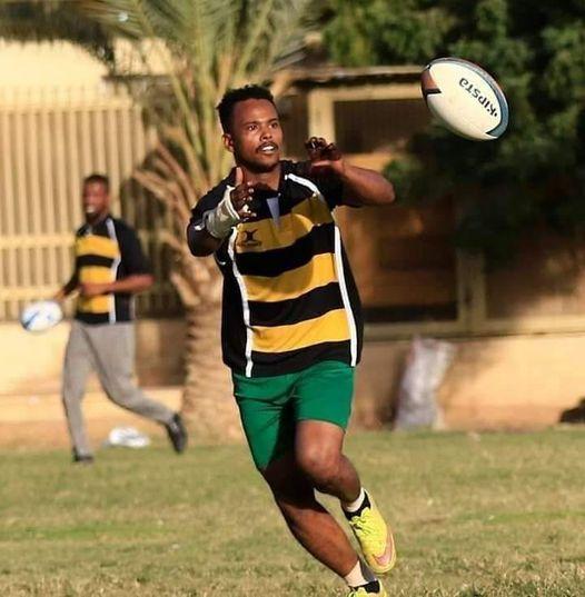 وفاة لاعب الركبي السوداني عبدالله النعيمة