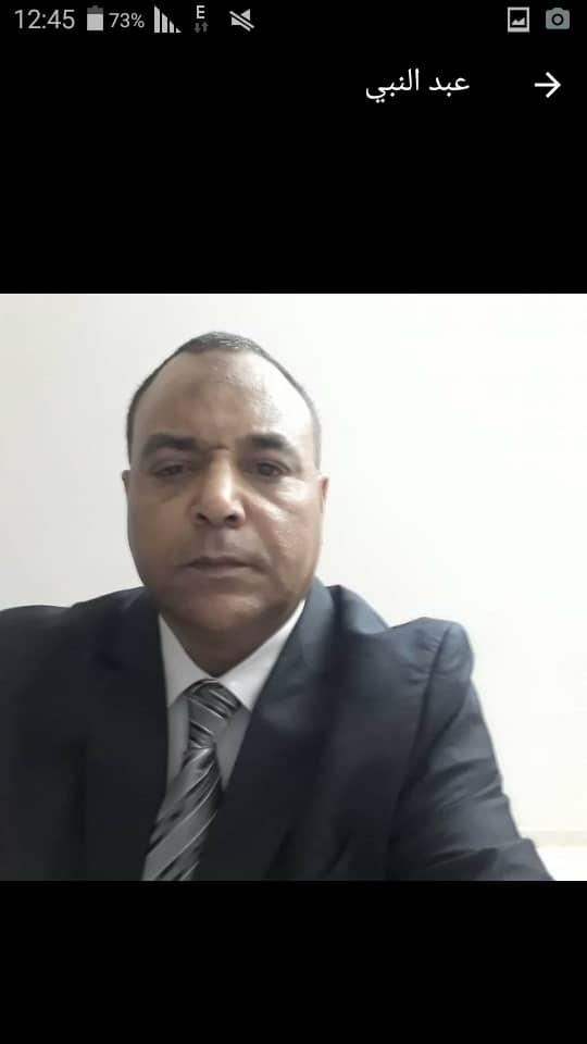 المستشار الاعلامي لسفارة جمهورية مصر في السودان يعزي في يوسف..