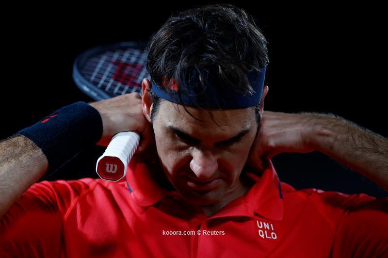 فيدر ينسحب من بطولة فرنسا المفتوحة