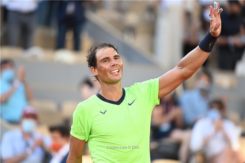 نادال يواصل التألق في بطولة التنس