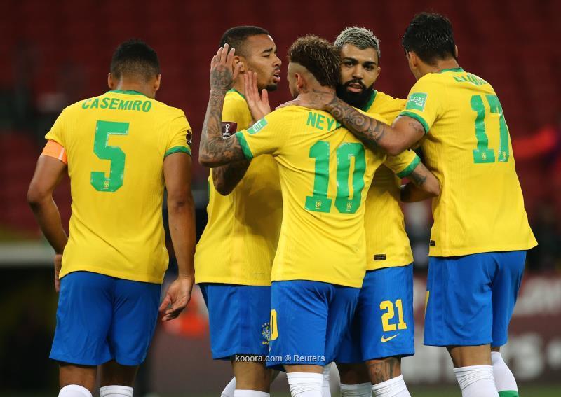 لاعبو المنتخب البرازيلي يقررون خوض كوبا امريكا