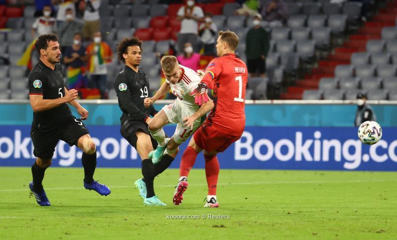 جوريتسكا يحفظ كبرياء المانيا امام المجر بتعادل مثير